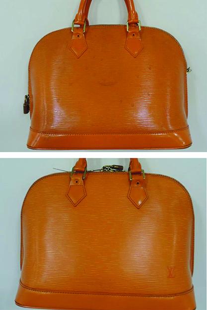 louis vuitton handbag cleaning and restoration the handbag spa. Black Bedroom Furniture Sets. Home Design Ideas